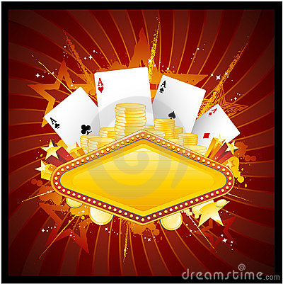 Free Casino Background Royalty Free Stock Images - 14535849