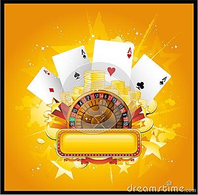 Free Casino Background Royalty Free Stock Image - 14581846
