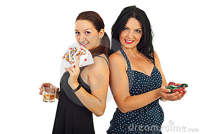 Casino beautiful women