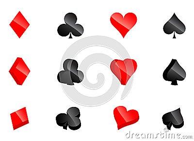 Casino card symbols