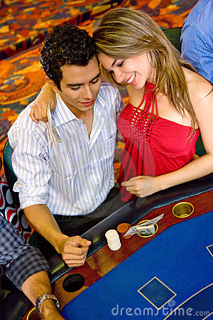 Casino couple