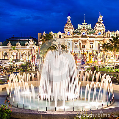 Casino de Monte - Carlo.