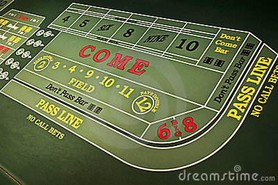Casino Gambling Gaming Craps Table Game