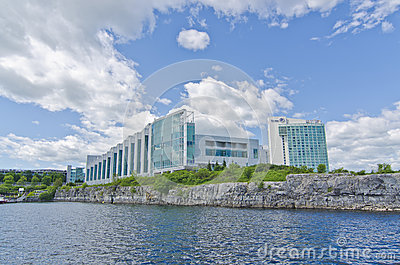Casino, Hilton Lac-Leamy Gatineau, Quebec, Canada Editorial Photography