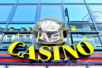 Casino logo Editorial Stock Photo