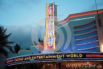 Casino neon lights