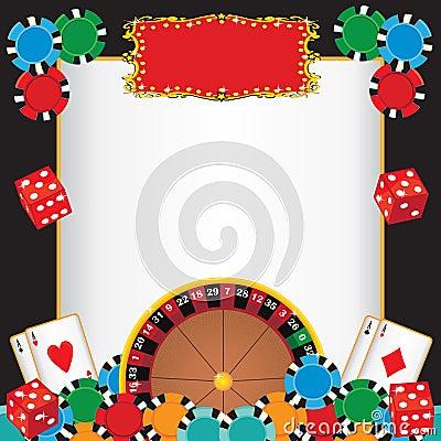 Casino Night Party Event Invitation