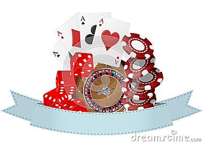 Casino ribbon