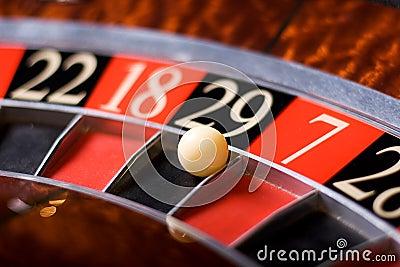 Casino roulette, 29 wins