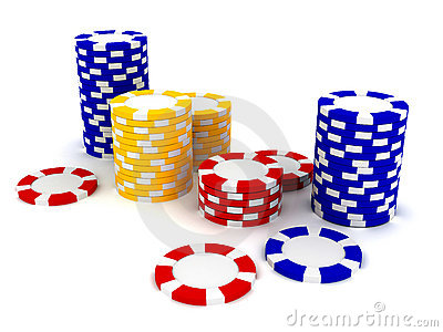 Casino Roulette s chips