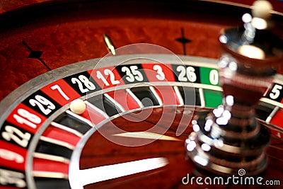 Casino roulette weel