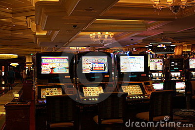 Casino slot machines Editorial Photography