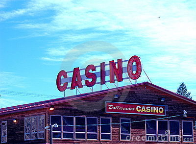 Casino under a big sky