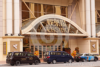 Casinos in Macau Editorial Photo