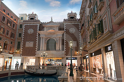 Casinos in Macau - venice Editorial Photo