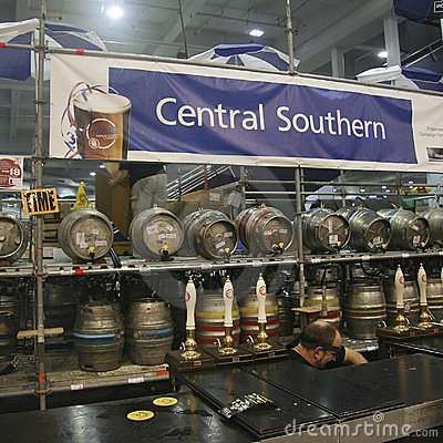 Cask Beer of The Great British Beer Festival Editorial Image