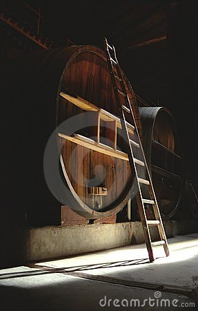 Cask & Ladder in Dark Cellar