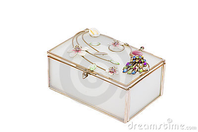 Casket for jewelry gold ornaments