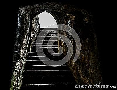 Casle steps