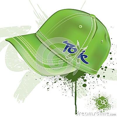 Casquillo verde
