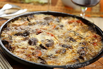 Casserole with liver