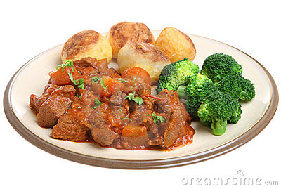 Casseroled Beef with Vegetables