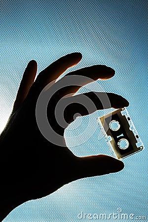 Cassete in hand
