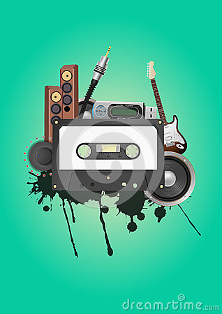 Cassette audio device