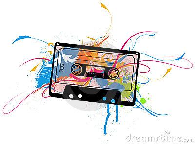Cassette with colors