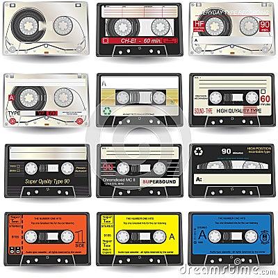 Cassette Icons