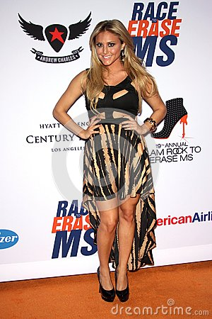 Cassie Scerbo at the 19th Annual Race To Erase MS, Century Plaza, Century City, CA 05-19-12 Editorial Stock Image