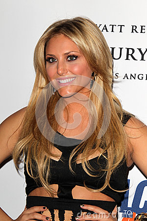 Cassie Scerbo arrives at the 19th Annual Race to Erase MS gala Editorial Stock Photo