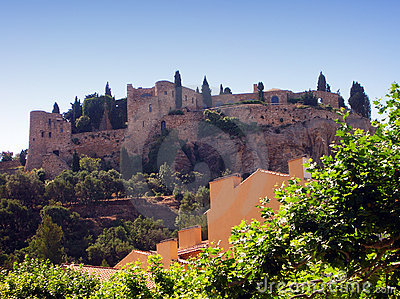 Cassis castle - France