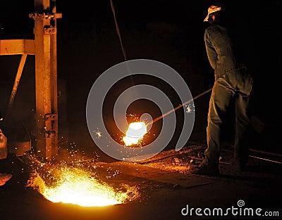 Cast iron factory