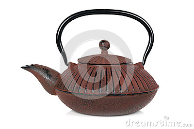 Teapot  on White