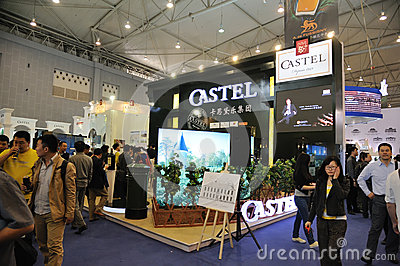 Castel booth Editorial Photography