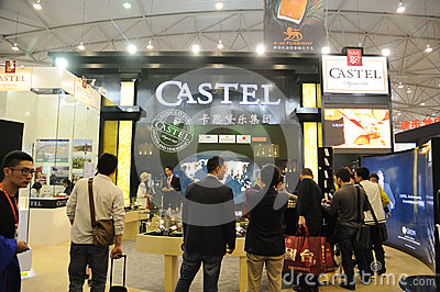 Castel booth Editorial Photo