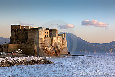Castel Dell Ovo Stockfotos - Bild: 22858643