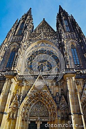 Castel details in Praha / Prague