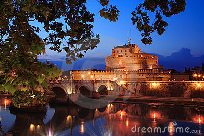 Castel di angelo in Rome