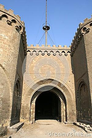 Castel gate