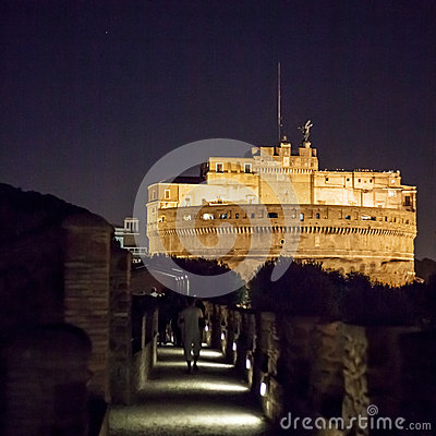 Castel Saint Angelo Editorial Stock Photo