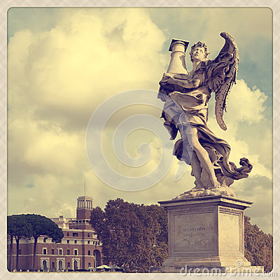 Free Castel Sant Angelo Royalty Free Stock Images - 27824229