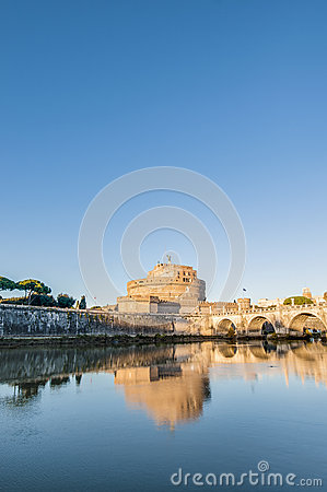 Free Castel Sant Angelo In Parco Adriano, Rome, Italy Royalty Free Stock Photo - 32885445