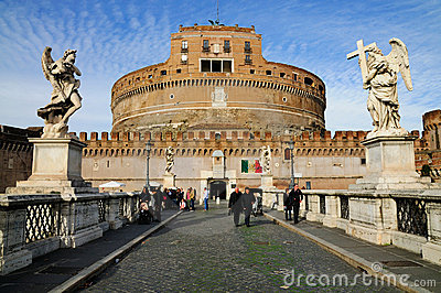 Castel Sant Angelo, Rome Editorial Photo