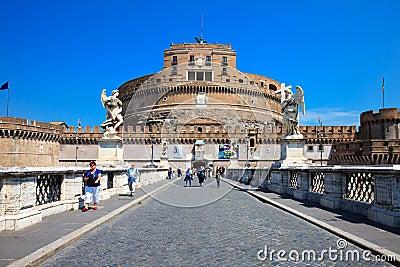 Castel Sant Angelo - Rome Editorial Image