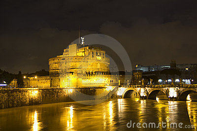 Castel Sant Angelo and the Sant Angelo bridge