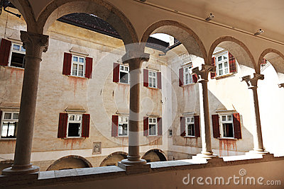 Castel thun inside view