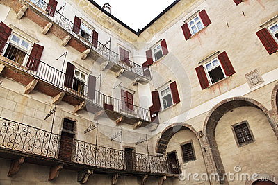 Castel thun inside view