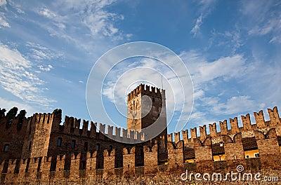 Castel Vecchio battlements
